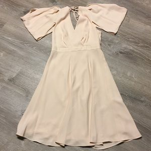 NWT J Crew Blush Pink Dress Size 8